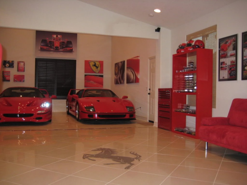 carrelage garage voiture. Black Bedroom Furniture Sets. Home Design Ideas